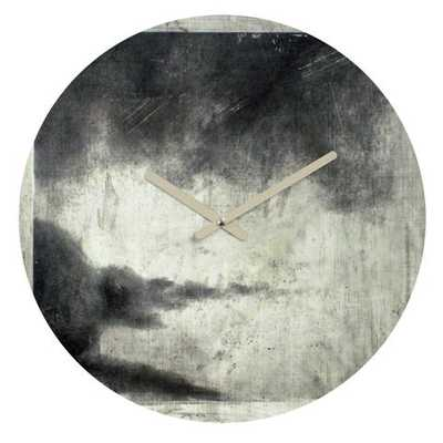 E1 Round Clock By Conor Odonnell - Wander Print Co.