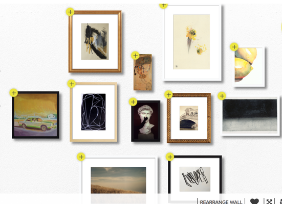 Monochrome and Yellow - Artfully Walls