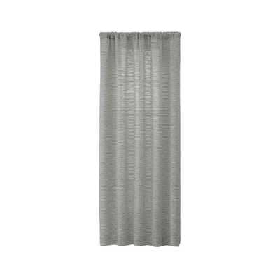 Vesta Textured Curtain Panel 50x96 - Crate and Barrel