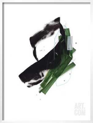 "STUDY 21 By Jaime Derringer - Framed Art Print 24""x32"" - Style: CHELSEA White - Width 0.75"" - Glass: Acrylic: Clear - art.com"