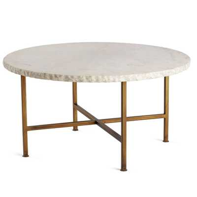 CHISELED EDGE COFFEE TABLE - Wisteria