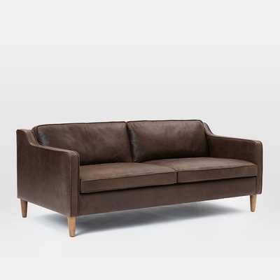 "Hamilton Leather Sofa (68"") - West Elm"