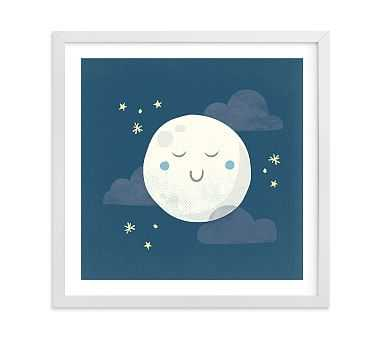 Goodnight Moon Wall Art by Minted(R) 11x11, White - Pottery Barn Kids