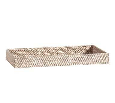 Tava Tray, Whitewash - Pottery Barn
