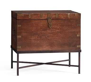 Timor Wood Accent Trunk - Pottery Barn