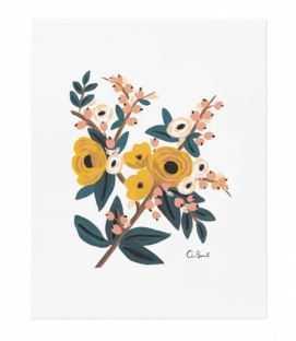 Marigold Botanical Print - Lulu and Georgia