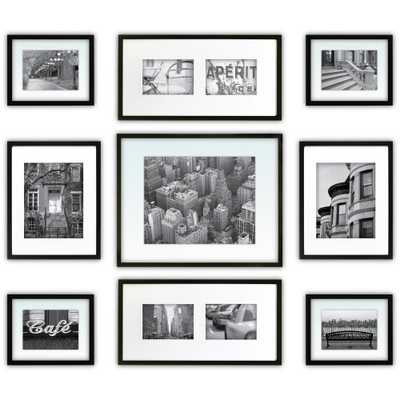 9-Opening 5 in. x 7 in. Matted Picture Frame - Home Depot