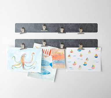 Magnetic Strip with Clips - Pottery Barn Kids
