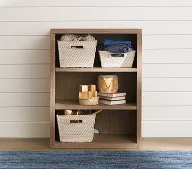 Charlie Bookcase Cubby, Smoked Gray - Pottery Barn Kids