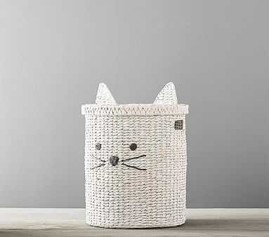 Kitty Shaped Storage, Hamper - Pottery Barn Kids