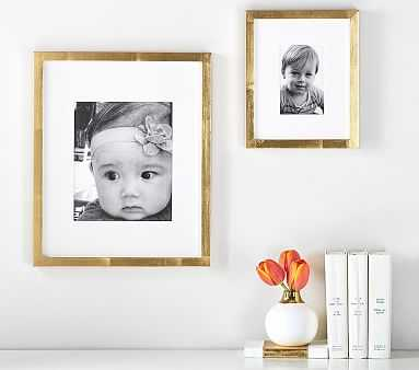 Gold Gallery Frame, 8x10 picture - Pottery Barn Kids