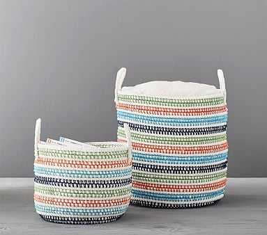 Primary Rainbow Storage, Large - Pottery Barn Kids