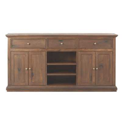 Aldridge Antique Walnut Buffet - Home Depot