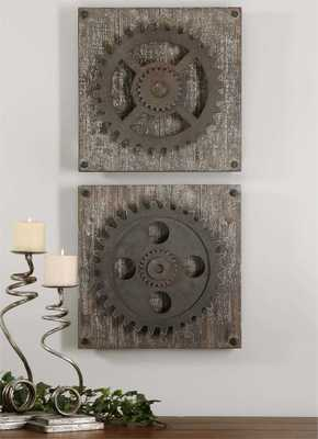 Rustic Gears, S/2 - Hudsonhill Foundry