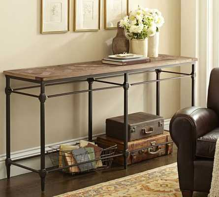 Parquet Console Table - Pottery Barn