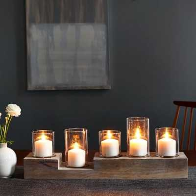 Light Wood Centerpiece - West Elm