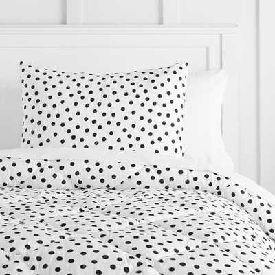 painted dot comforter - Pottery Barn Teen