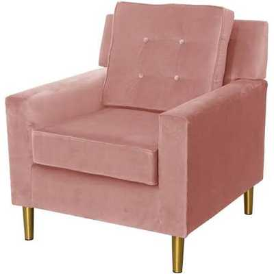 Arm Chair - Parkview Style 5505 - Pink/Mahogany Rose - Third & Vine