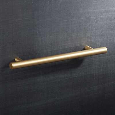 """6"""" Brass Round Handle - CB2"""