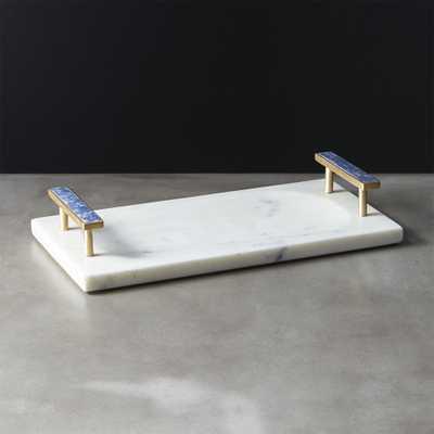 Lapiz Marble Tray - CB2