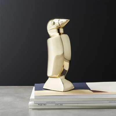 Penguin Bookend - CB2