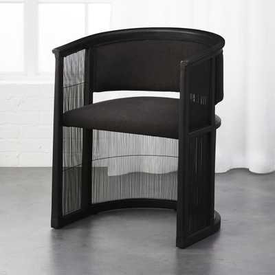 Kaishi Black Chair - CB2