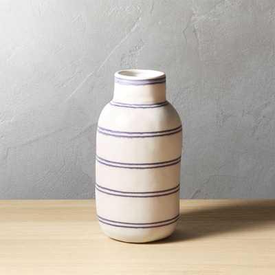 Clifford Stripe Vase - CB2