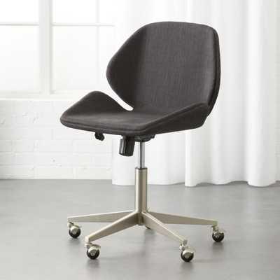 Milton Grey Office Chair - CB2