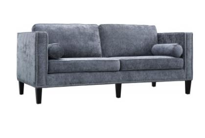 Copper Morgan Velvet Sofa - Maren Home