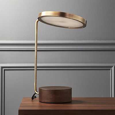 Tate LED USB Table Lamp - CB2
