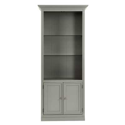 Ballard Designs Tuscan Bookcase with Cabinet - Ballard Designs