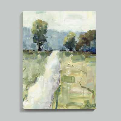 "Ballard Designs Follow Me Stretched Canvas  30"" x 23"" - Ballard Designs"