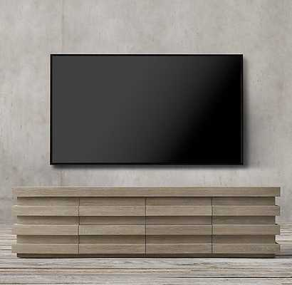 STACKED MEDIA CONSOLE - RH