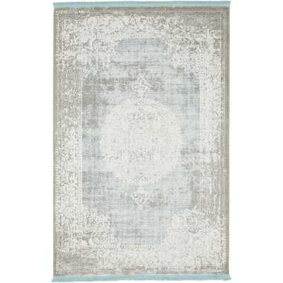 Twila Gray Area Rug - Wayfair
