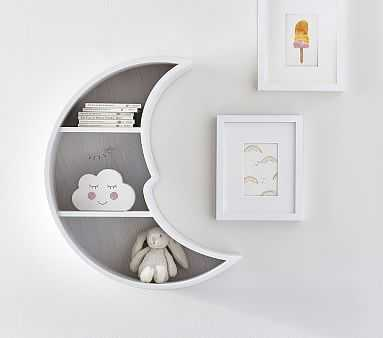 Moon Shaped Shelf - Pottery Barn Kids