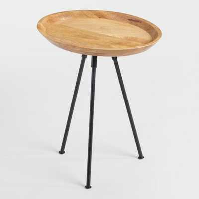 Oval Wood Lani Accent Table - World Market/Cost Plus
