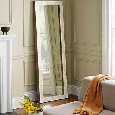 Parsons Floor Mirror - Bone Inlay - West Elm