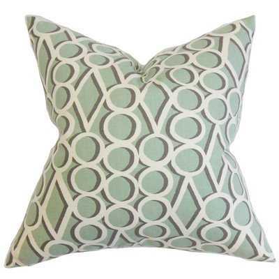Blaise Geometric Throw Pillow - Polyester Fill - Linen & Seam