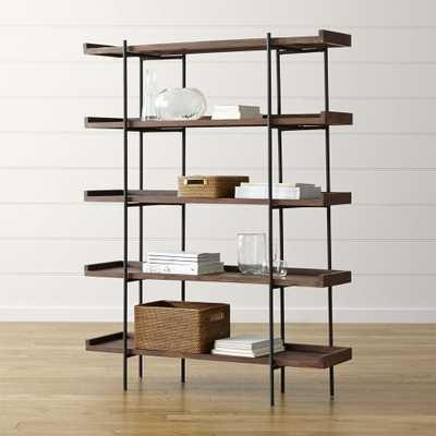 Beckett 5-High Shelf - Crate and Barrel