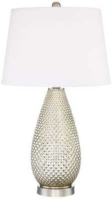 Klara Mercury Glass Table Lamp - Lamps Plus