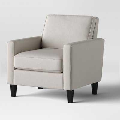 Elmhurst Modern Loose Back Cushion Chair Beige - Project 62™ - Target