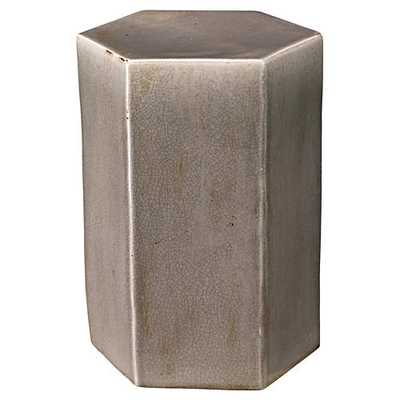 JAMIE YOUNG Large Porto Side Table, Gray - One Kings Lane
