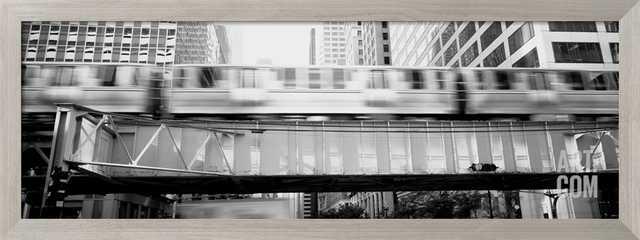 THE EL ELEVATED TRAIN CHICAGO IL - art.com