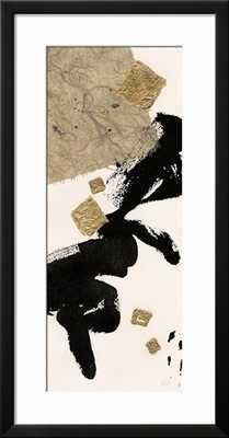 GILDED COLLAGE I ON WHITE - Framed - art.com