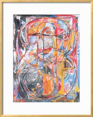 0 THROUGH 9, 1961  - 26 x 34 framed art print - art.com