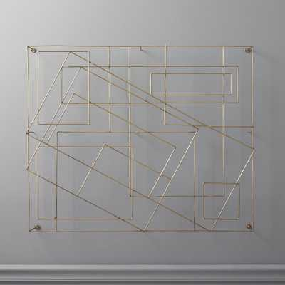 Graham Wire Wall Art - CB2