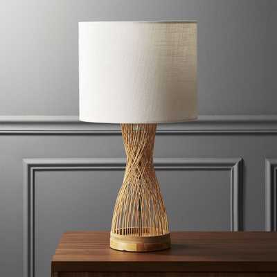 Rattan Table Lamp - CB2
