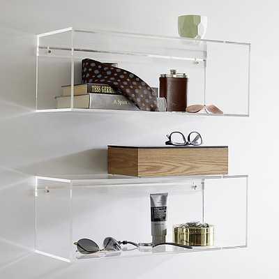 Lucite shelf - CB2
