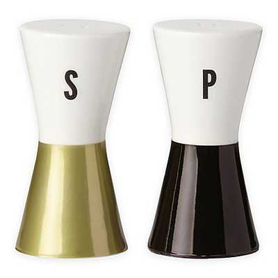 kate spade new york Fairmount Park™ Bow Salt and Pepper Shakers - Bed Bath & Beyond
