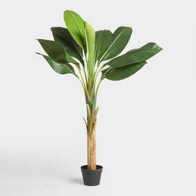 Faux Single Stalk Banana Tree - World Market/Cost Plus